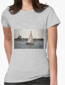 Stralsund, Mecklenburg Western Pomerania, Germany. Womens Fitted T-Shirt