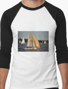 Mid-week Regatta, Stralsund, Baltic Sea, Germany. Men's Baseball ¾ T-Shirt