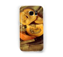 Still life with fresh pumpkins Samsung Galaxy Case/Skin