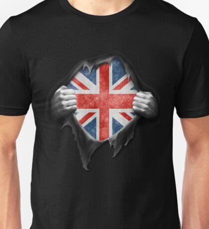 England Flag. Proud English Unisex T-Shirt