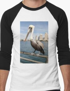 San Diego Pelican Men's Baseball ¾ T-Shirt