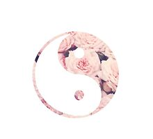 Floral Ying Yang by lmarcrum