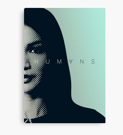 HUMANS TV Show - MIA Canvas Print