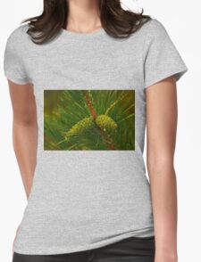 Baby Pine Cones Womens Fitted T-Shirt