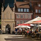 Stralsund, Mecklenburg Western Pomerania, Germany. by David A. L. Davies