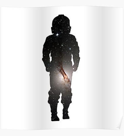 TIE Fighter Trooper Galaxy Poster