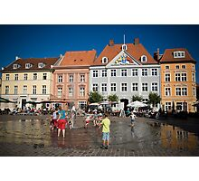 Stralsund, Mecklenburg Western Pomerania, Germany. Photographic Print