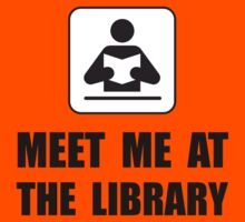 Meet Me At Library Kids Clothes