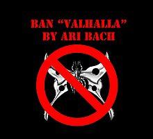 Ban Valhalla (Black Tote Bag) by banvalhalla