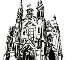 Cathedral of Saint Paul, Birmingham AL by Scott Gardner