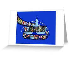 WD Film Strip  Greeting Card