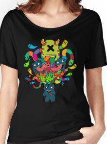 Monster Brains Women's Relaxed Fit T-Shirt