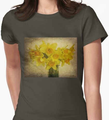 Spring Delight Womens Fitted T-Shirt