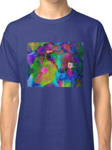 Impressionist Primulas. Classic T-Shirt