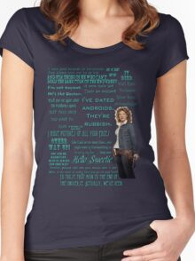 River Song Quotes Women's Fitted Scoop T-Shirt