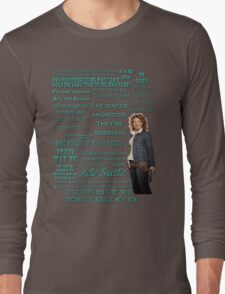River Song Quotes Long Sleeve T-Shirt