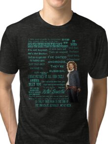 River Song Quotes Tri-blend T-Shirt