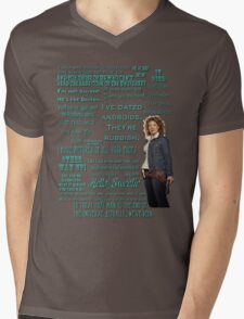 River Song Quotes Mens V-Neck T-Shirt