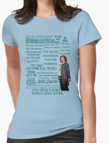 River Song Quotes Womens Fitted T-Shirt