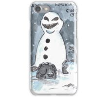 whovian christmas iPhone Case/Skin
