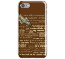 Firefly quotes iPhone Case/Skin