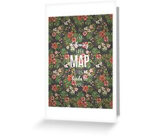 Maroon 5 - Maps Greeting Card