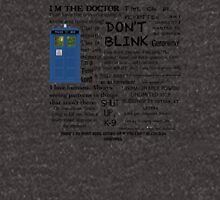 Dr Who quotes Hoodie