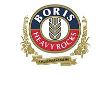 Boris - Heavy Rocks Photographic Print