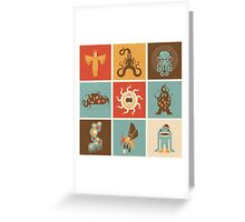 The Lovecraftian Squares Greeting Card