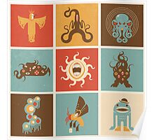 The Lovecraftian Squares Poster