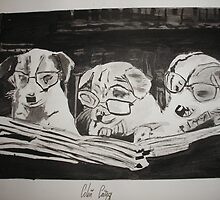 Clever Dogs by Colin  Laing