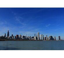 Chicago City Skyline Photographic Print