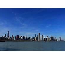 Chicago City Skyline Photographic Print