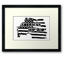 American Hip Hop Framed Print