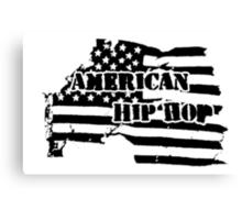 American Hip Hop Canvas Print