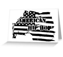 American Hip Hop Greeting Card