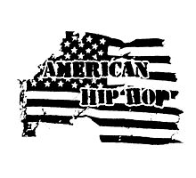 American Hip Hop Photographic Print