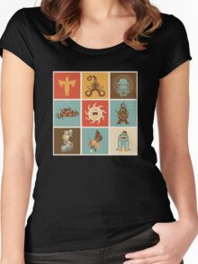 The Lovecraftian Squares Women's Fitted Scoop T-Shirt