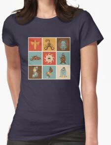 The Lovecraftian Squares Womens Fitted T-Shirt