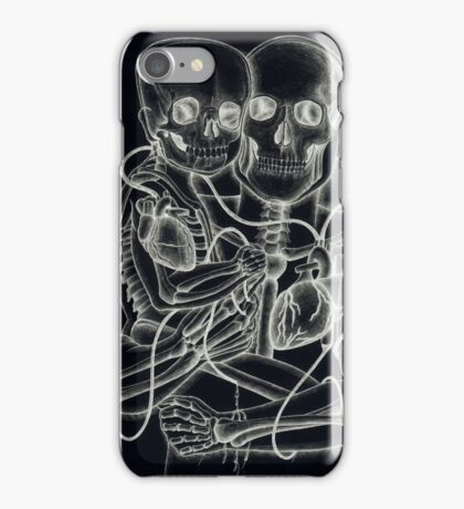 Father & Son (X-Ray Series). iPhone Case/Skin