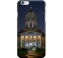 Imperial War Museum at Night iPhone Case/Skin