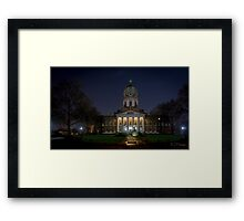 Imperial War Museum at Night Framed Print
