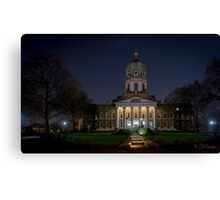 Imperial War Museum at Night Canvas Print