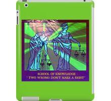 SCHOOL 666  iPad Case/Skin