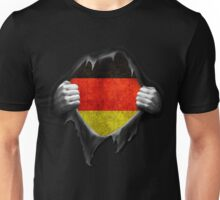 Germany Flag. Proud German Unisex T-Shirt