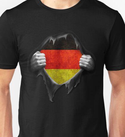 Germany Flag. Proud German Unisex T-Shirt