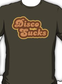 Disco Sucks - Retro 70s - Logo T-Shirt