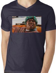 BIG WORM Mens V-Neck T-Shirt