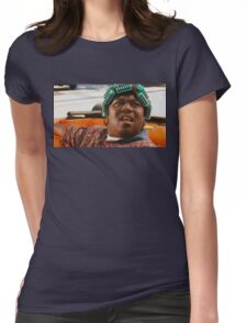 BIG WORM Womens Fitted T-Shirt