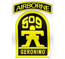 509th Airborne Poster